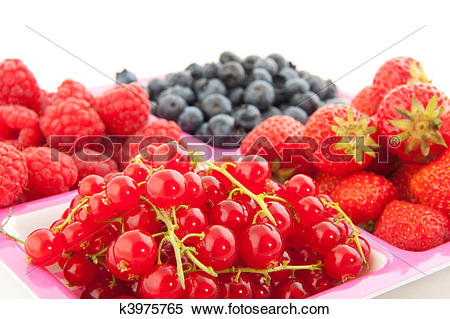 Stock Image of Fresh soft fruit k3975765.