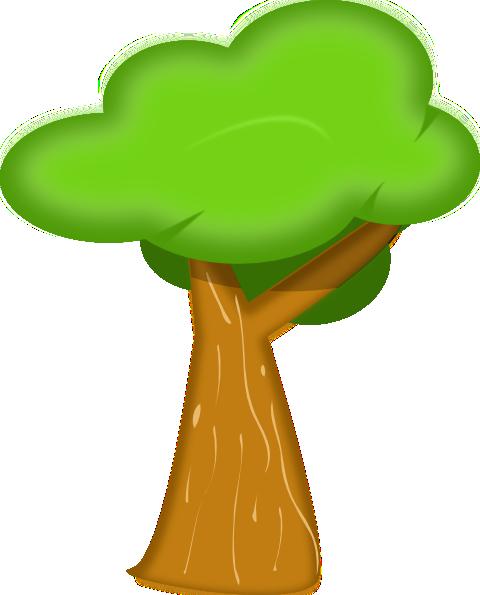 Soft Trees clip art Free Vector / 4Vector.