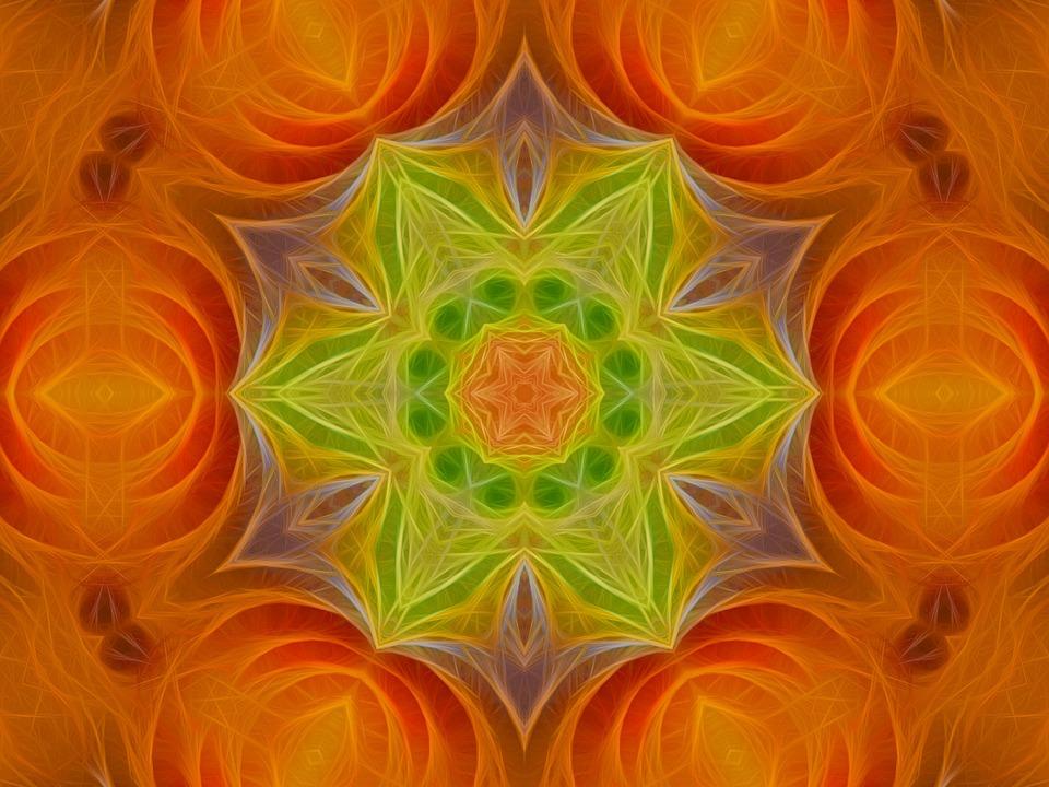Free illustration: Soft Hues, Green Flower.