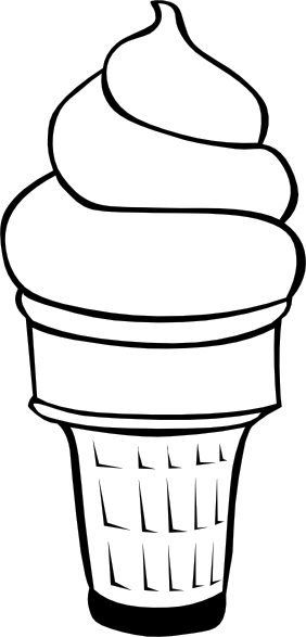 Soft Ice Cream Cones Ff Menu Clip Art at Clker.com.
