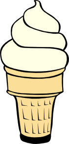 Soft Ice Cream Cones Ff Menu 2 Clip Art at Clker.com.