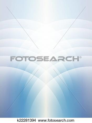 Clipart of Heaven Lines Background Vertical Soft Light Sky.