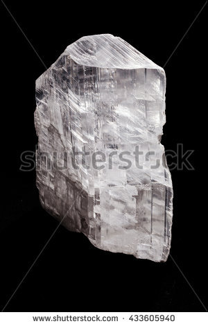 Gypsum Mineral Stock Photos, Royalty.