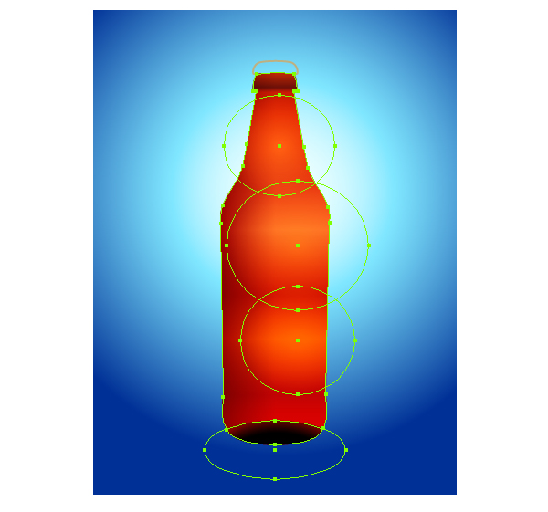 Illustrator Tutorial: Create a Vector Bottle.