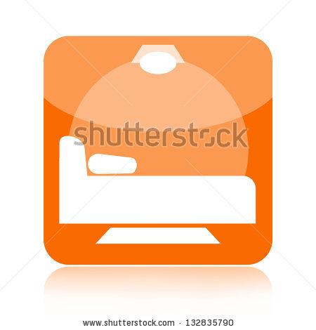 Soft Orange Button Stock Photos, Royalty.