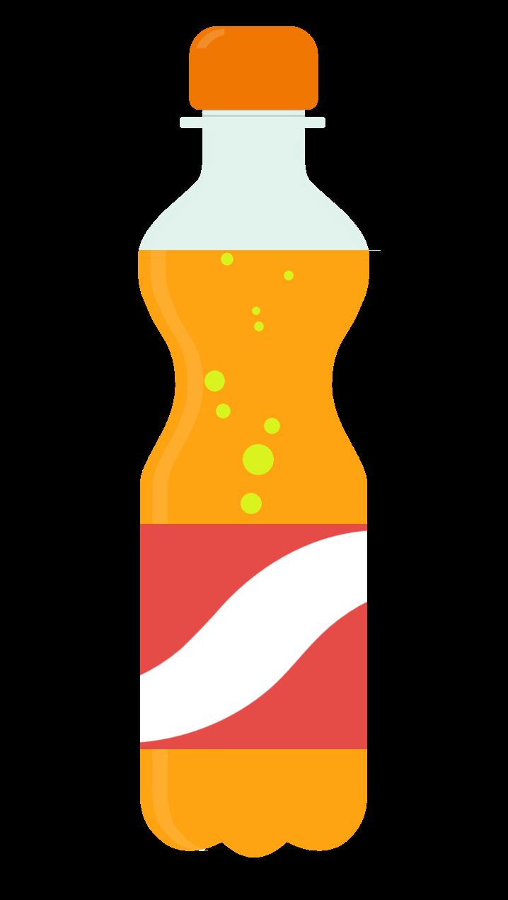 Soft drink bottle clipart.