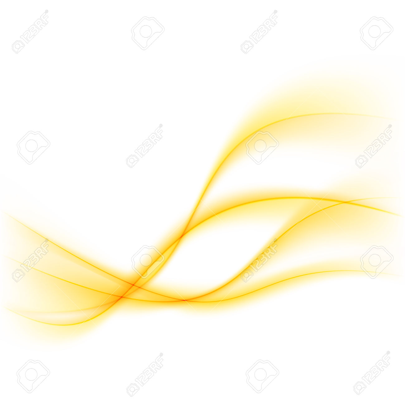 Modern Abstract Yellow Glow Lines Background With Smooth Soft.