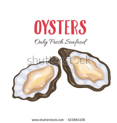 Oyster Stock Photos, Royalty.