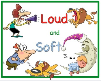 Loud And Soft Sounds Worksheets & Teaching Resources.