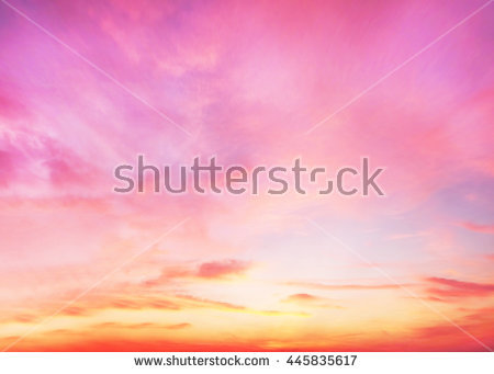 Peaceful Landscape Sunset Colorful Pink Blur Stock Photo 525828889.