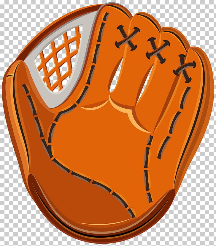 Baseball glove Softball , Baseball Glove , orange baseball.