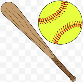 Softball Bat Images, Softball Bat PNG, Free download, Clipart.