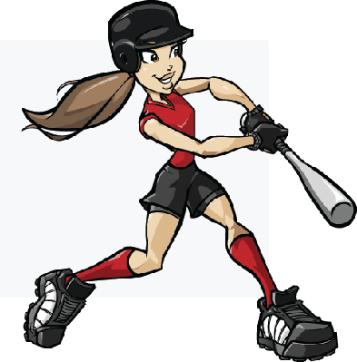 Softball Batter.