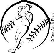 Softball Illustrations and Clipart. 4,250 Softball royalty free.