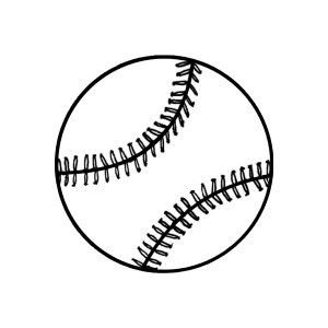 Free Softball Black And White Clipart, Download Free Clip.