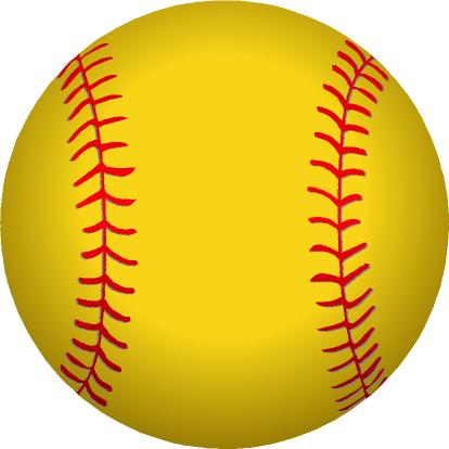 Softball clipart free images 3.