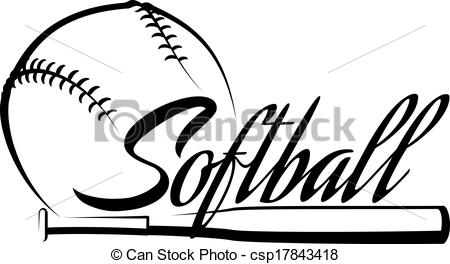 Free Softball Clipart Download.