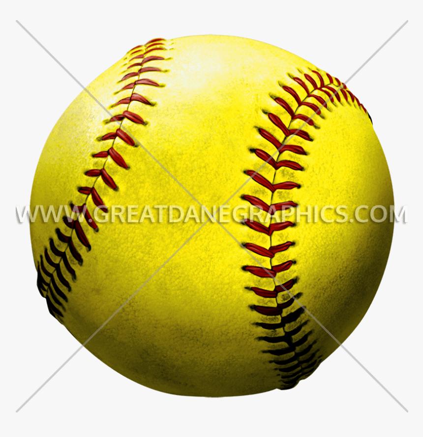 Transparent Softball Clipart.