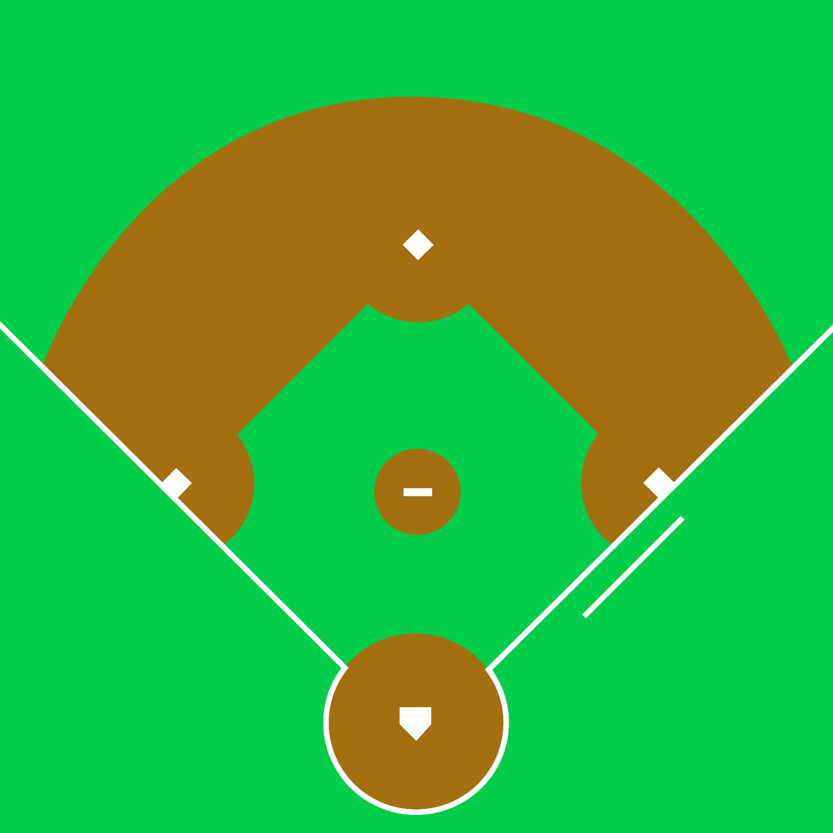 14+ Softball Field Clipart.