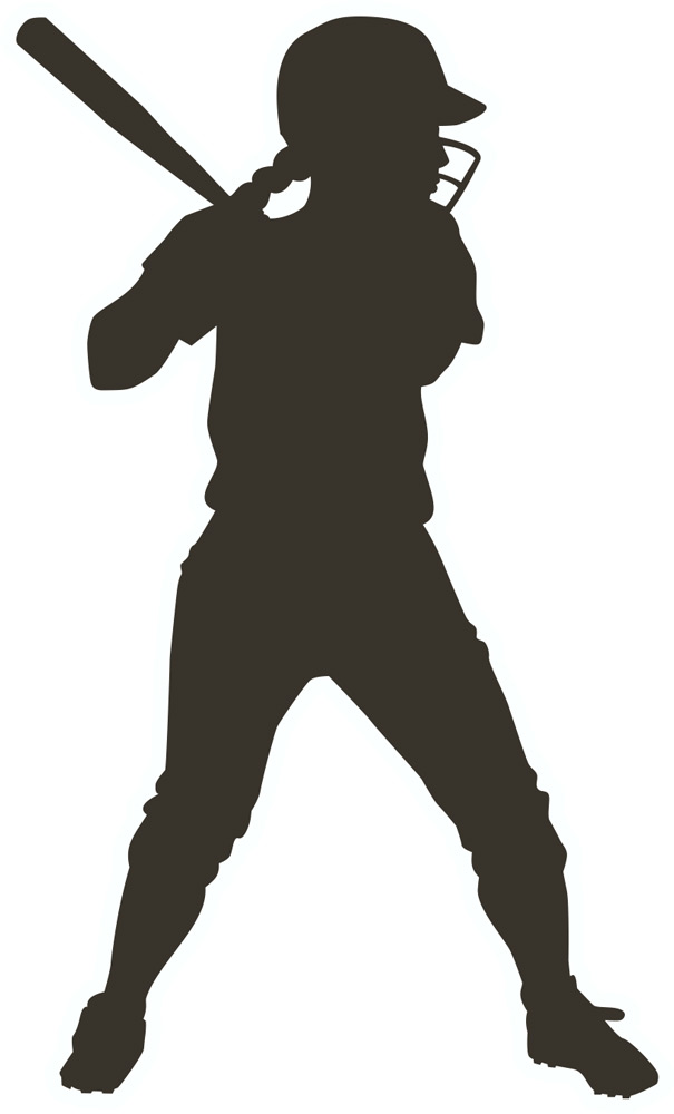 Free Softball Batter Silhouette, Download Free Clip Art.