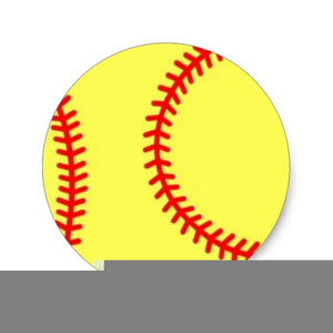 Fastpitch Softball Clipart Free.