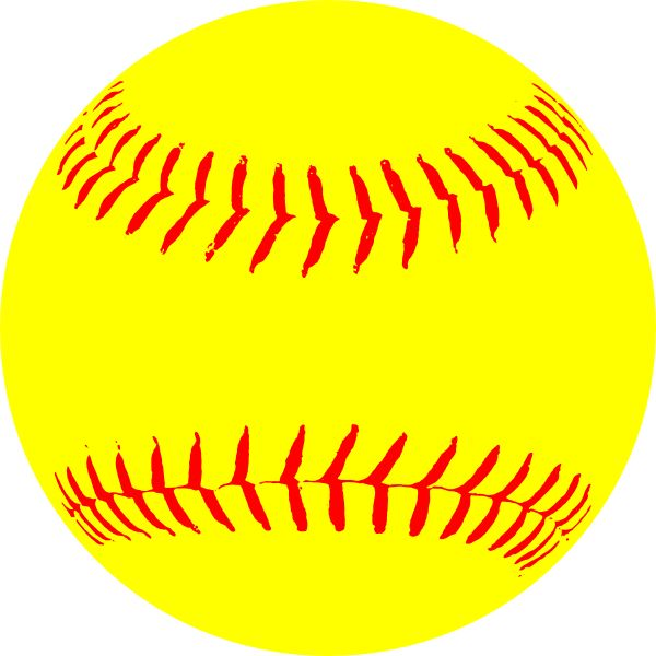 15+ Softball Clipart Free.
