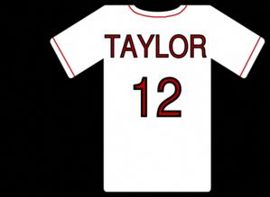 Baseball Jersey clip art #baseballgamesonline.