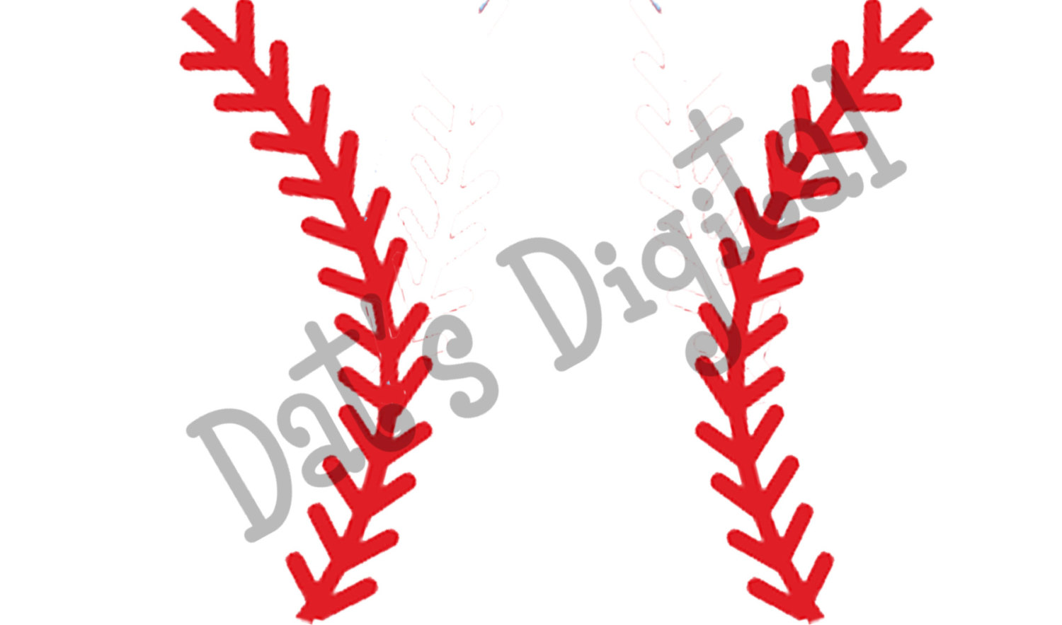 softball stitches clipart for silhouette #18