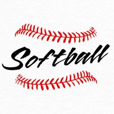 softball stitches clipart for silhouette #6