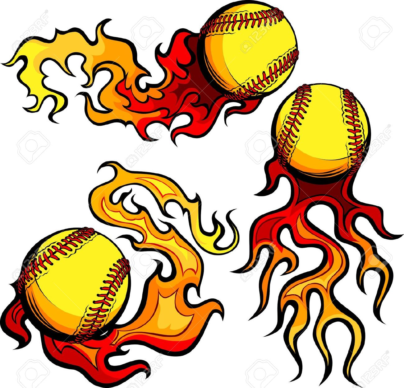 6,121 Softball Stock Vector Illustration And Royalty Free Softball.