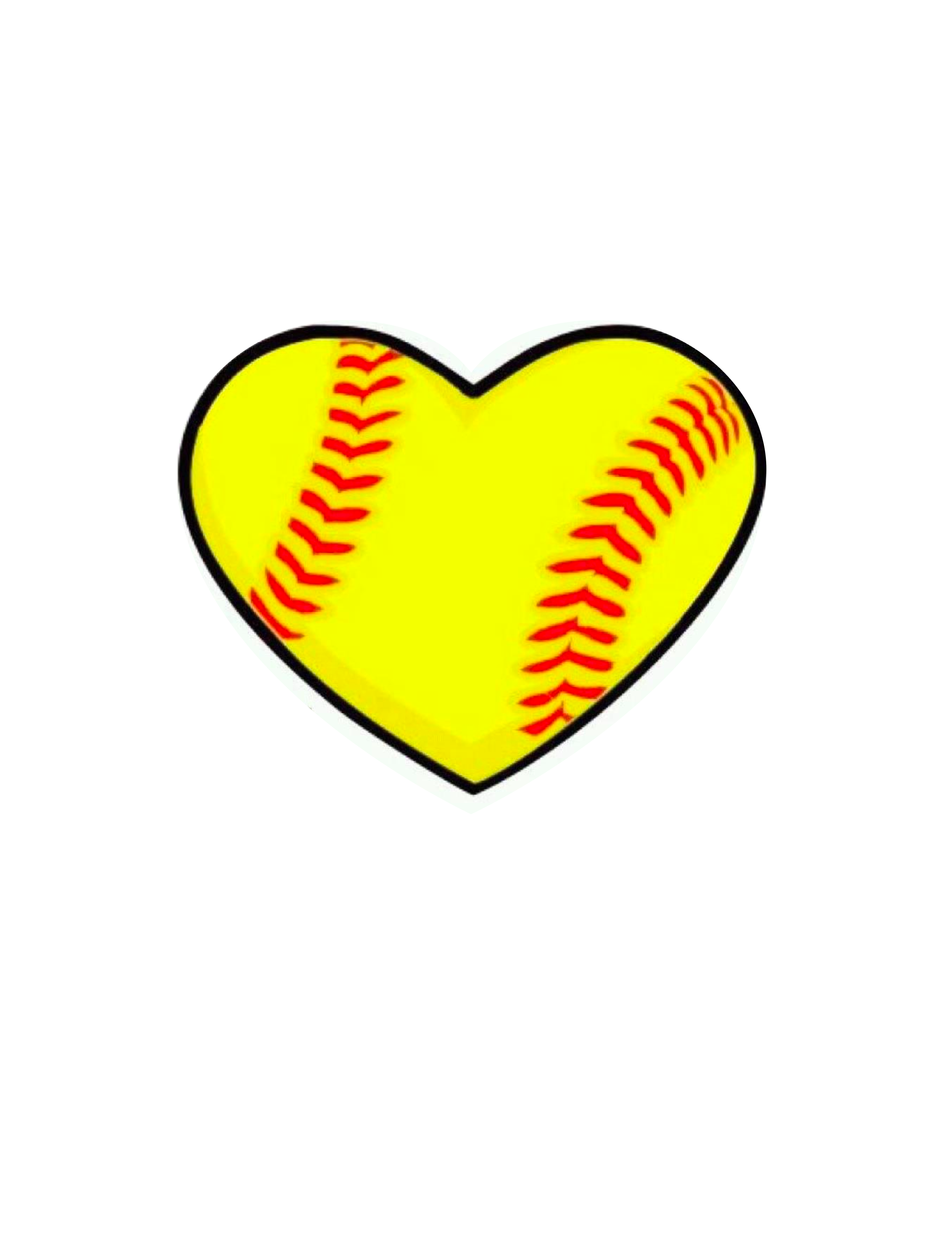 Softball Free Clipart.