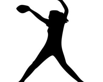 Softball Batter Clipart.