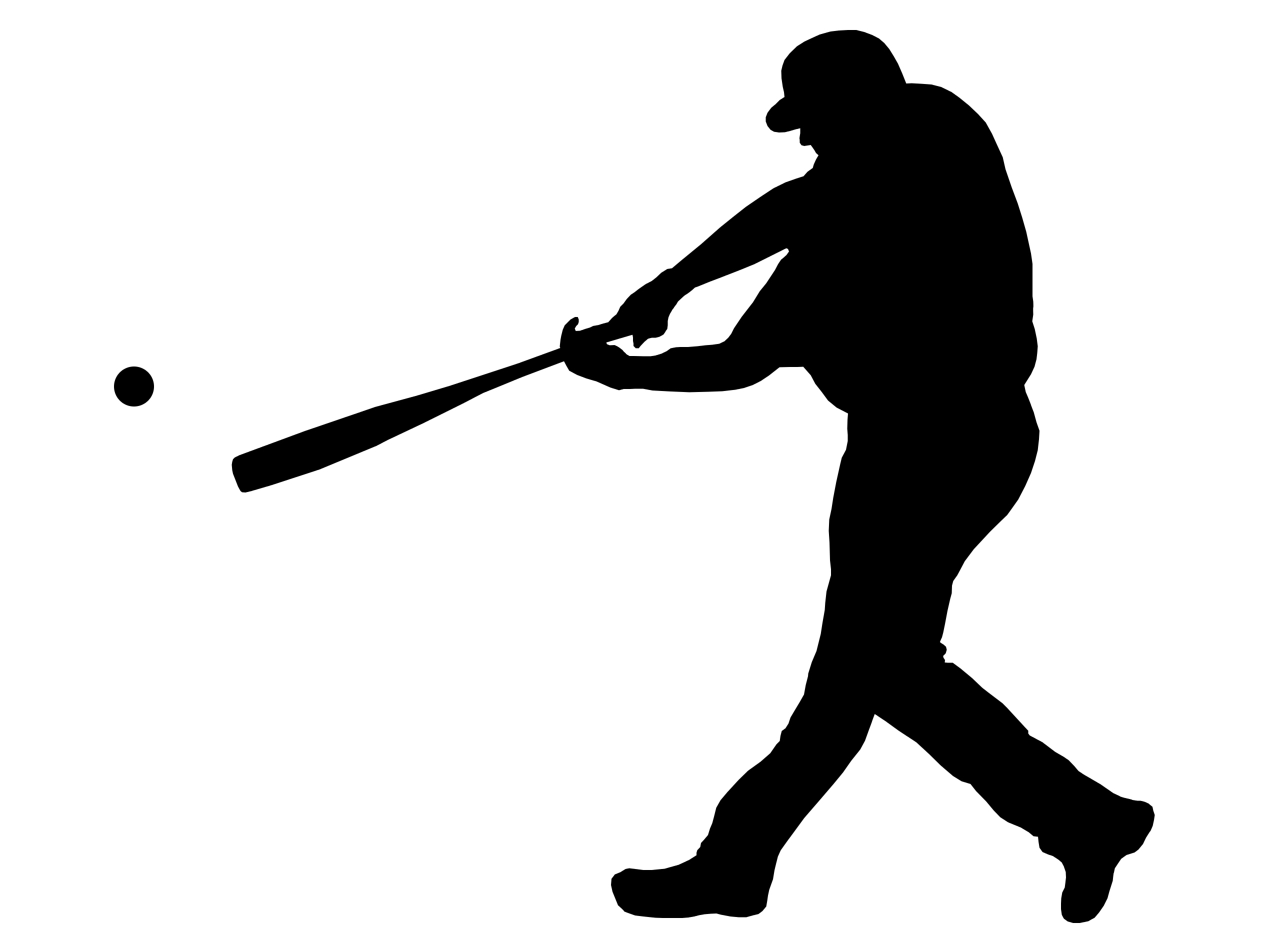 Softball Player Clipart.