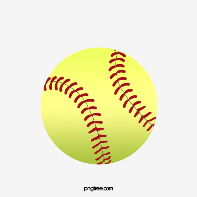 Softball Png, Vector, PSD, and Clipart With Transparent.