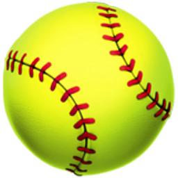 Softball PNG Images.