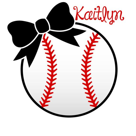 softball stitches clipart for silhouette #11