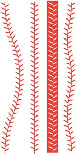 softball stitches clipart for silhouette #4