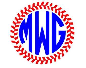 Softball stitch svg.