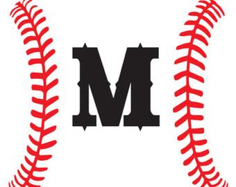 Softball stitch svg.