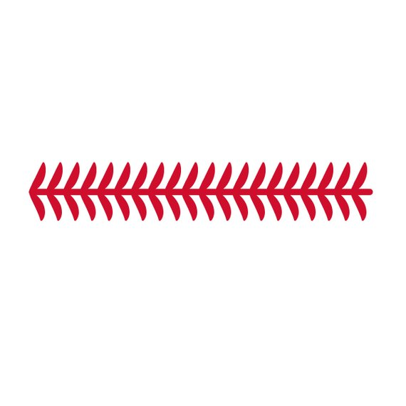 Softball stitching clipart 1 » Clipart Station.