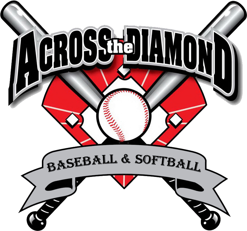 Softball Team Logo Across The Diamond Baseball.