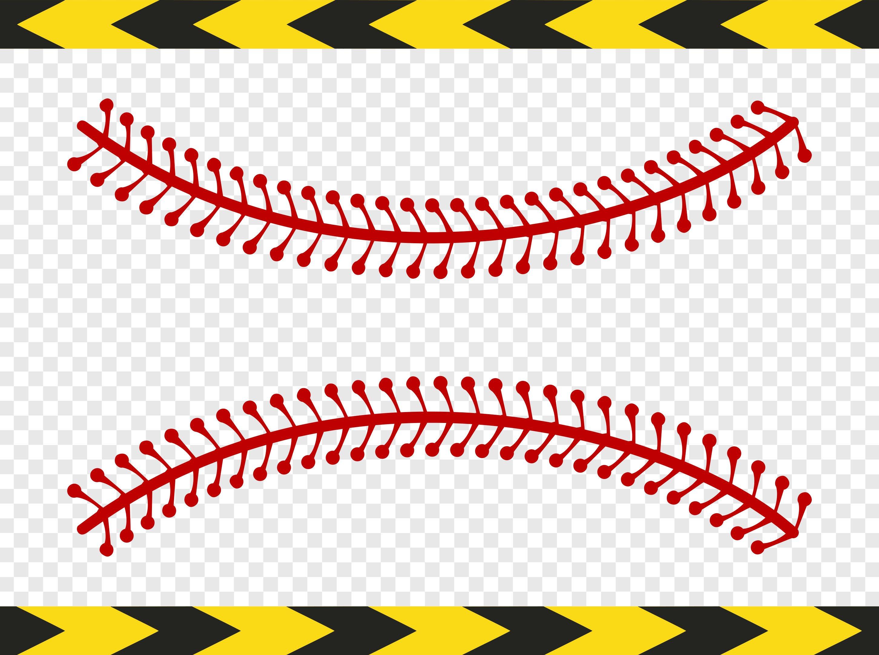 Baseball Laces Stitches Softball Svg Cli #210220.