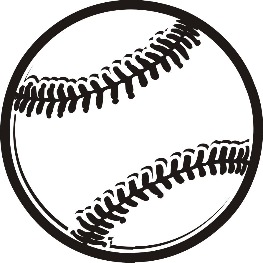 Vector Softball Cliparts 16.