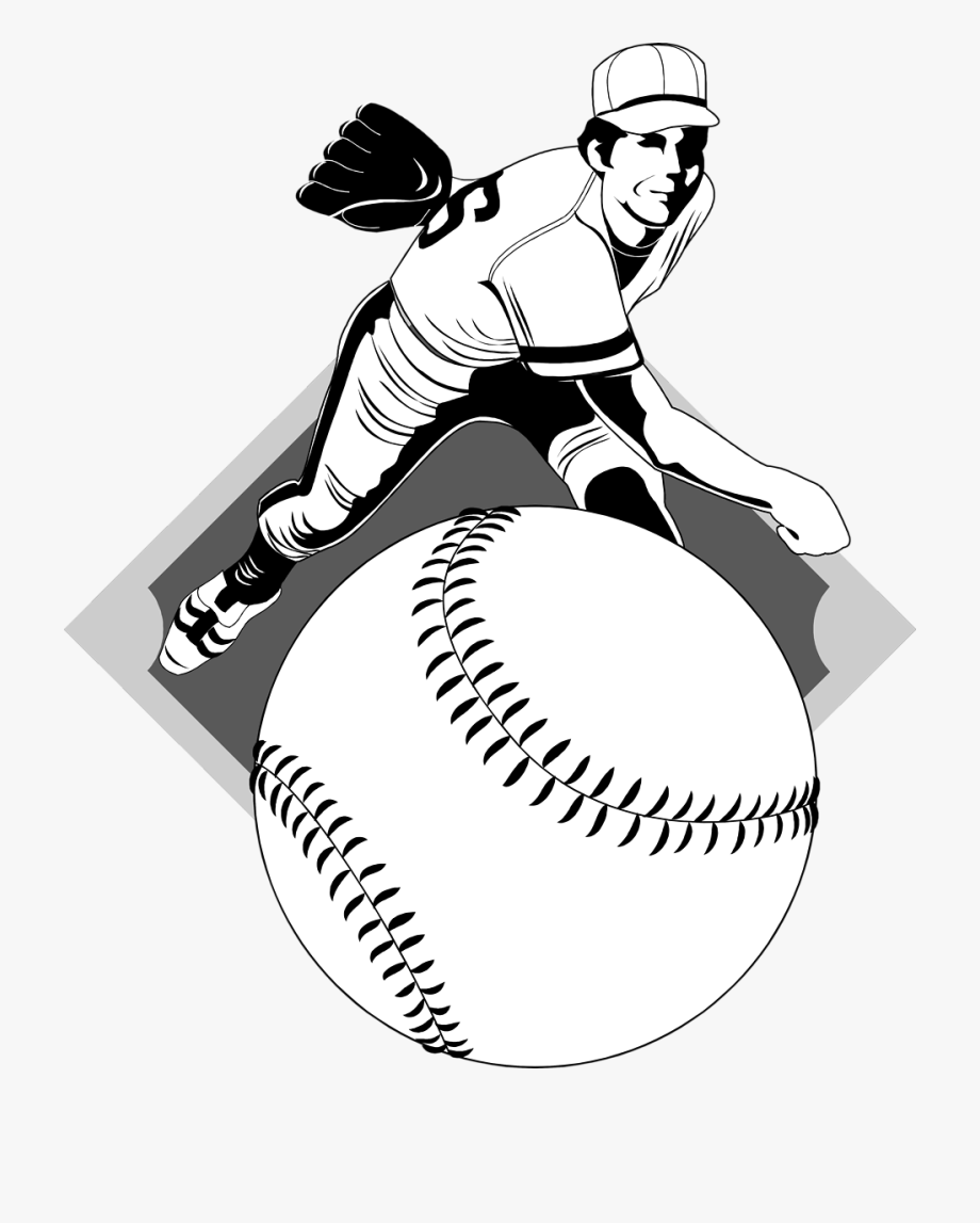 Transparent Softball Vector.