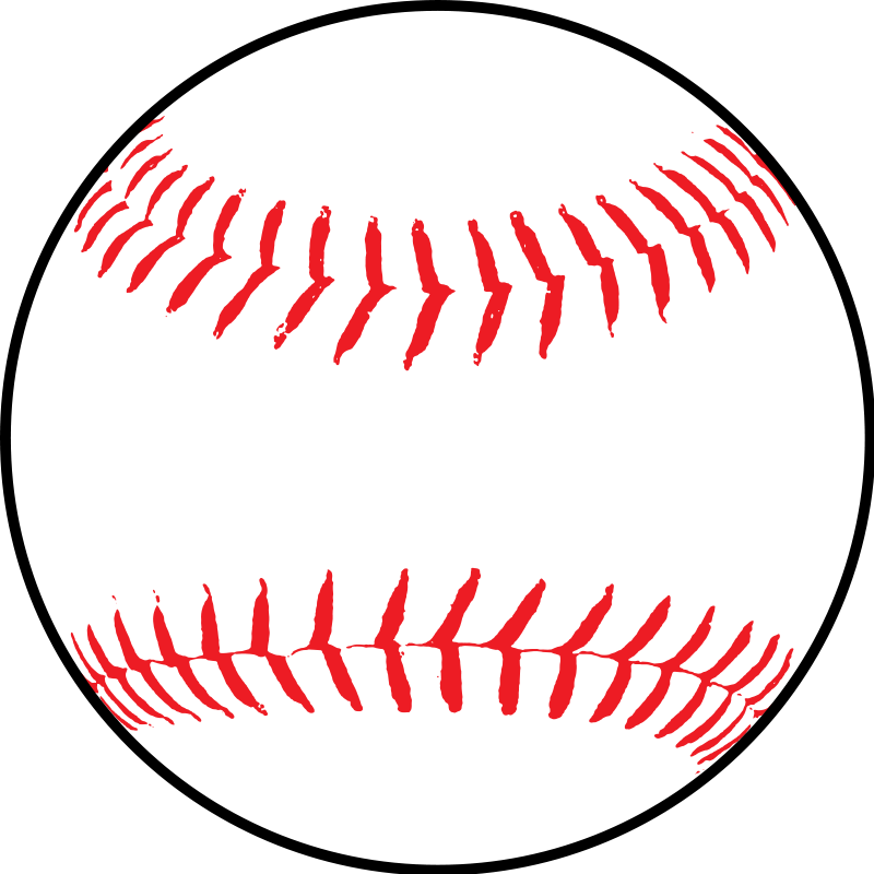 Softball vector clip art download free.