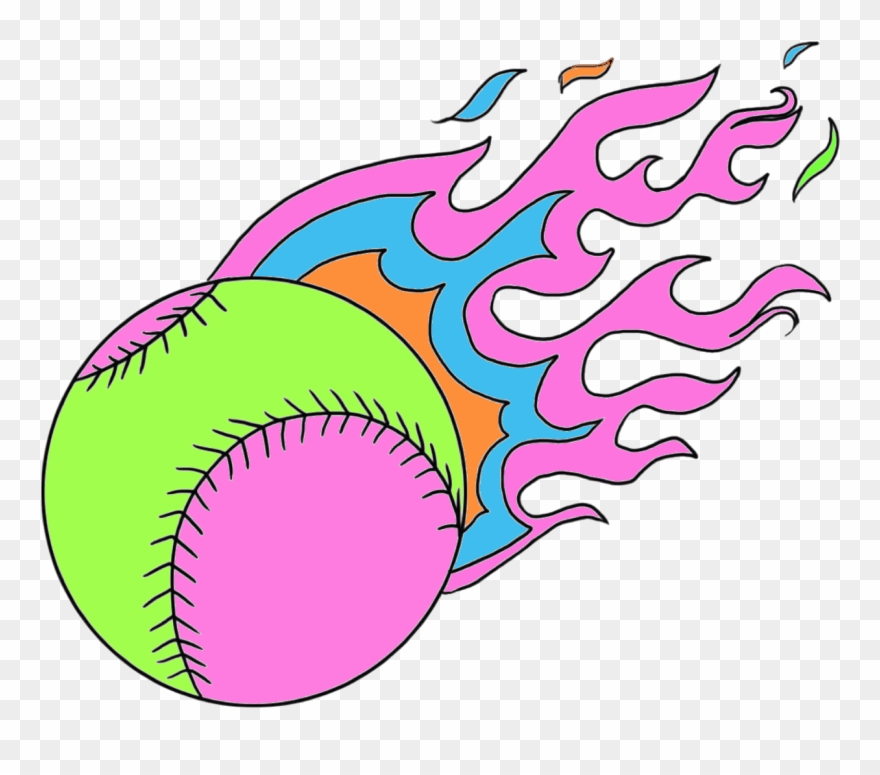 For The Fire Dragons Bright Flaming Softball.