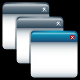 Software App Application Applications Cascade / Sleek XP.