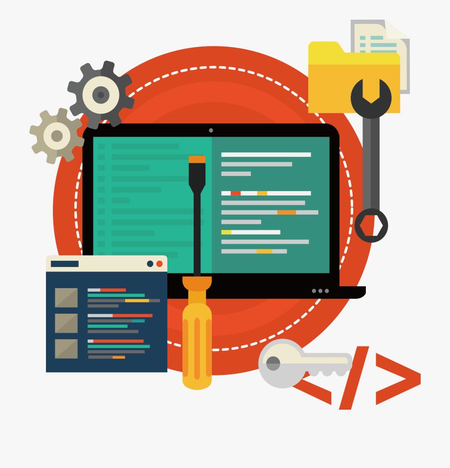 Software Development Clipart Identity.
