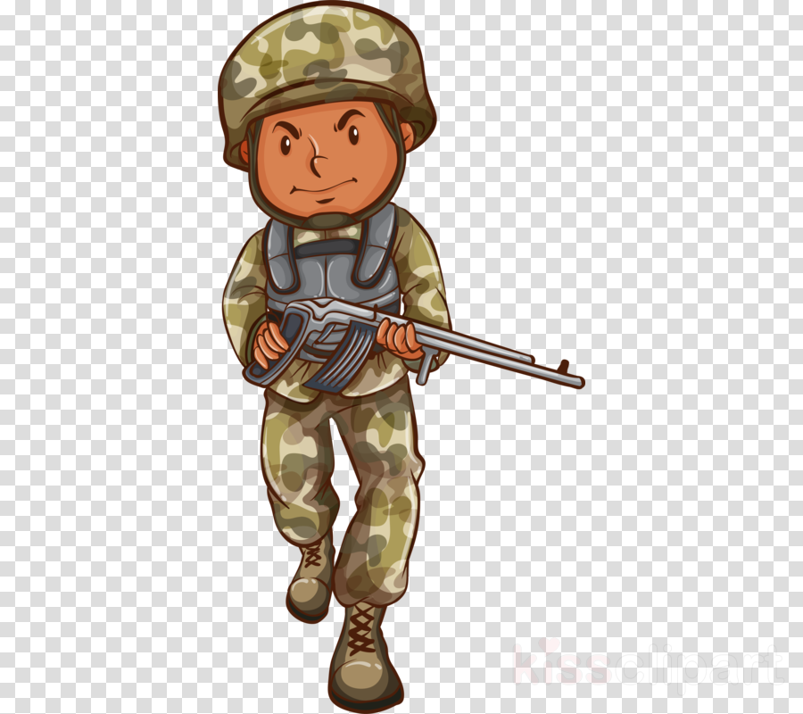 cartoon soldier clip art uniform camouflage clipart.