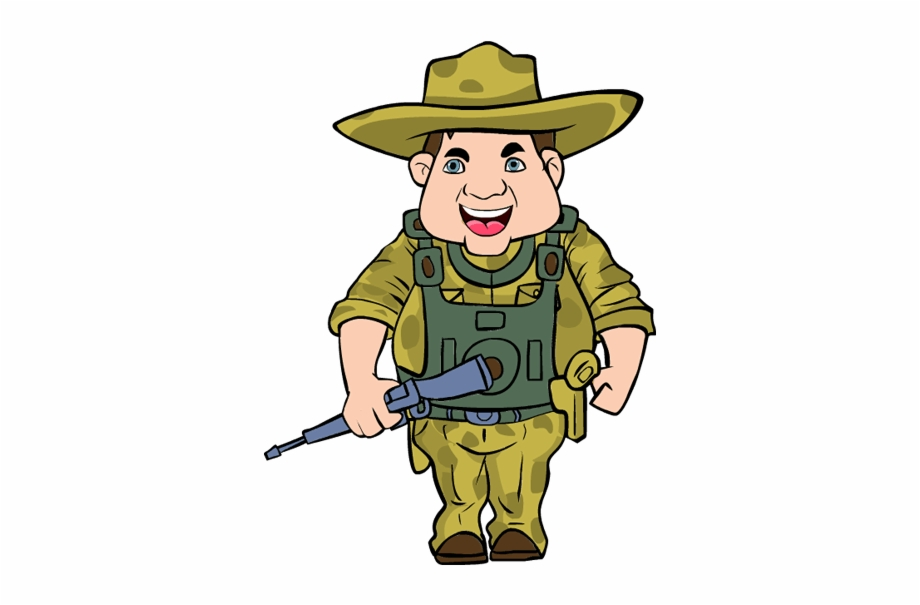 Veterans Day Soldier Clipart.